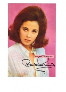 Barbara Parkins, genuine signed autograph, 10 x 8 inch, 06559